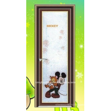 вертикальные навесных Ванная двери алюминиевые двери KKD-075