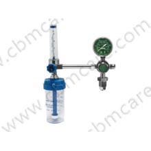 Medical Oxygen Reducer with Humidifier Bottle, Brass-Made Oxygen Flow Regulator