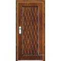 Porta blindada de madeira de aço estilo turco (LTK-A501)