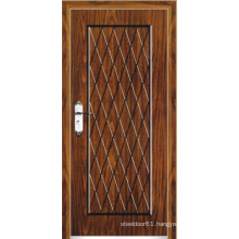 Turkish Style Steel Wooden Armored Door (LTK-A501)