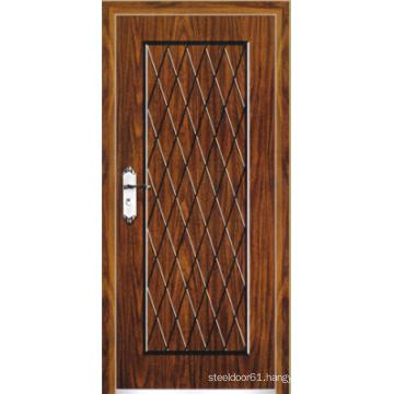 Turkish Style Steel Wooden Armored Door (LTK-A501)