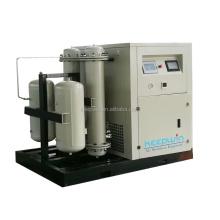 KXW-0.40/8 0.4m3/min 8bar max working pressure 100% Oil-Free Scroll Air Compressor for Medical Hospital PSA oxygen gas