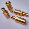 Brass Connectors Part with CNC Turning Processing