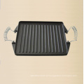 Preseasoned chapa de ferro fundido placa Fabricante Da China