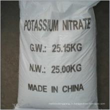 99,5% 99,7% Engrais de nitrate de potassium Agriculture Grade (13-0-46)