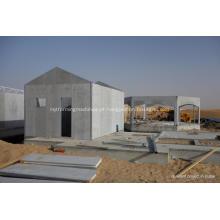 Casas pré-fabricadas isoladas estruturais dos painéis do cimento de fibra