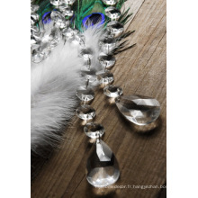 Perles acryliques brodées