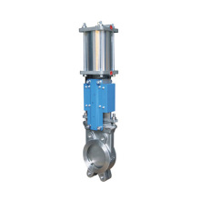 high quality industry pneumatic actuated knife gate valve with low prices