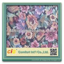 Tecido de sofá de tapeçaria de Jjacquard Design bonito padrão Design