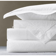 trade assurance factory secure payment wholesale white hotel life flat sheets