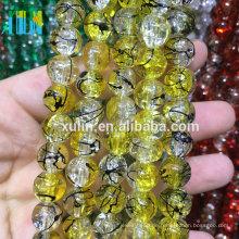 Bead Landing Großhandel / handgemachte lose Perlen / Crystal Crackle Perlen für Schmuck