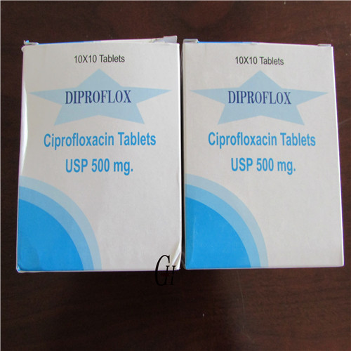 Ciprofloxacin Tablets 500mg BP