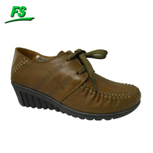 genuine leather lady shoes,best leather shoes,leather shoes high