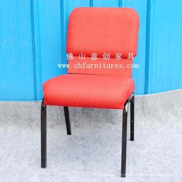Red Fabric Church Furniture Chair (YC-G37-01)