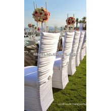 ruffled cheap wedding chair covers,chair covers for weddings with ruffles