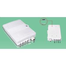 Caja de distribución / caja de distribución de fibra óptica de 8 puertos