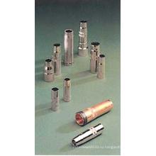 Конические/цилиндрические/коническими газового сопла для MIG сварки факел