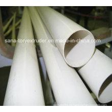 Tubo de PVC plástico 16-630mm que hace la máquina