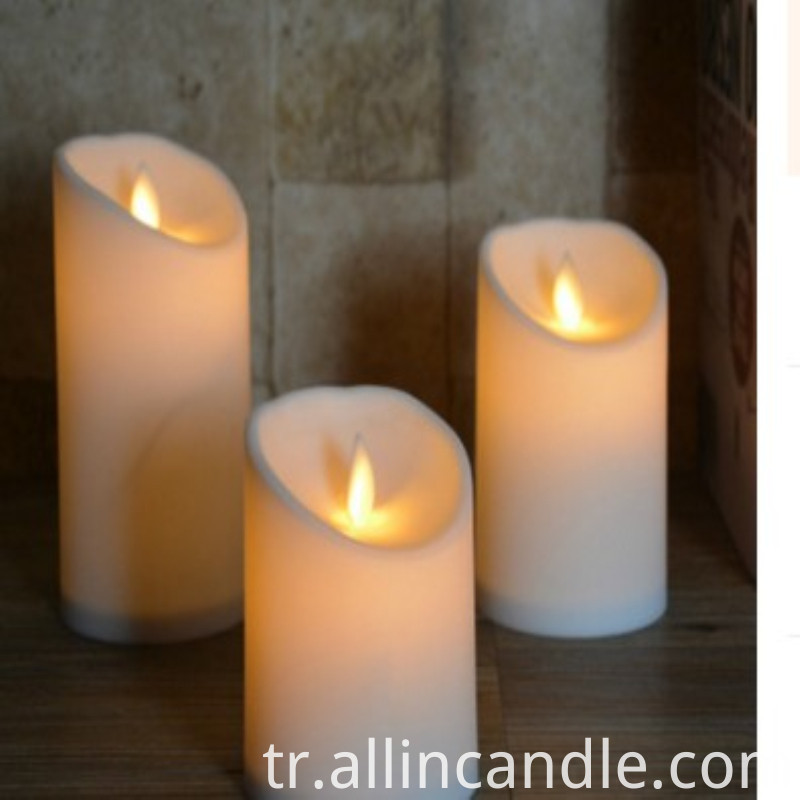 Wax Led Candle