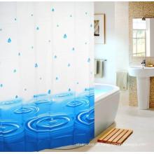 Banheiro de cortina de banho PEVA