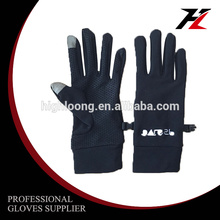 Touch screen Winter Cycling daily life out door sport Palm Silicon Fleece Gloves