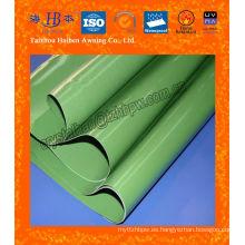 Tejido de PVC de alta tensión para cubierta de lona