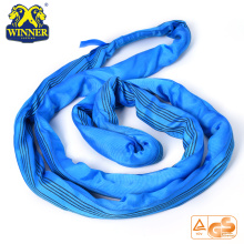 Heavy Duty 8T Lashing Endless Polyester Vòng Sling