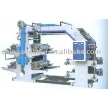 Machine d'impression flexographique à quatre couleurs YT-41000:
