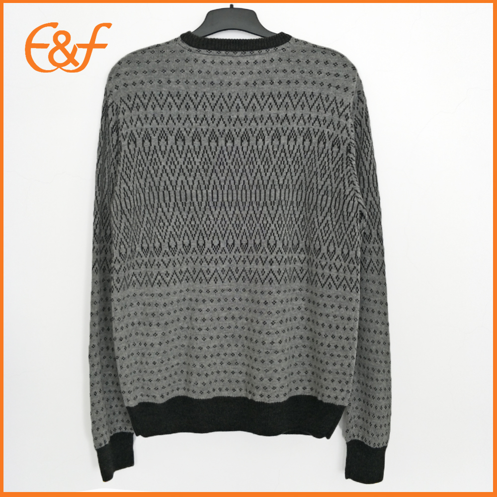 Guy Knitted Jacquard Sweaters Winter Sweater