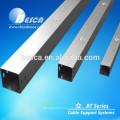 Trunking de cable de acero con fabricación de tapas superiores