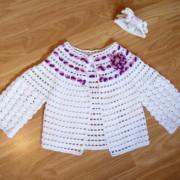 ropa de bebé de ganchillo ganchillo bebé chaqueta ropa de bebé nueva
