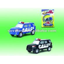 Brinquedo solar do brinquedo do carro da polícia mini