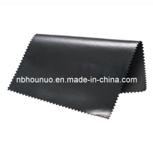 Black Polyester PVC Coated Workwear Fabric (HNGR-003)