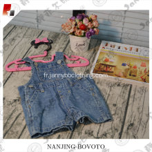 Hot Summer Design Light Blue Denim Suspenders