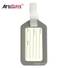 Bolsa de viaje accesorios nombre de equipaje etiqueta de plástico