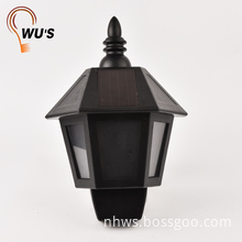Manufacturer on sale colorful outdoor garden light solar light for garden wall