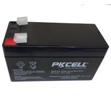 12V 1.2Ah sans entretien SLA (plomb scellé acide) batterie avec proformance élevée et bas prix 12V 1.2Ah sans entretien SLA (plomb scellé acide) batterie avec proformance élevée et bas prix