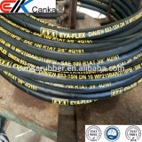 "Flexible high pressure wire braiding hose R2AT 3/8"" 1/2"" 3/4"" 1"""
