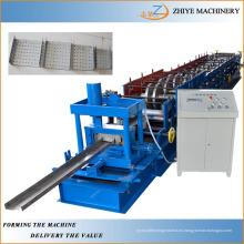 Construcción de marcos de acero Molino U Purlin Roll formando la máquina