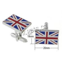 Gets.com brass mini cooper cufflinks
