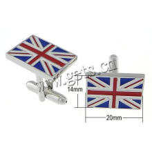 Gets.com latão mini cooper cufflinks