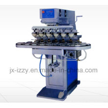 6 Color Shuttle Pad Printing Machine