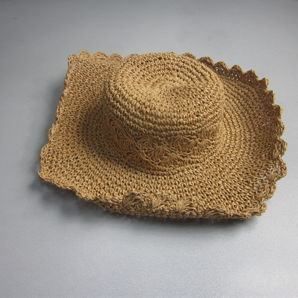 2016 New Style Novelty Irregular Straw Hat