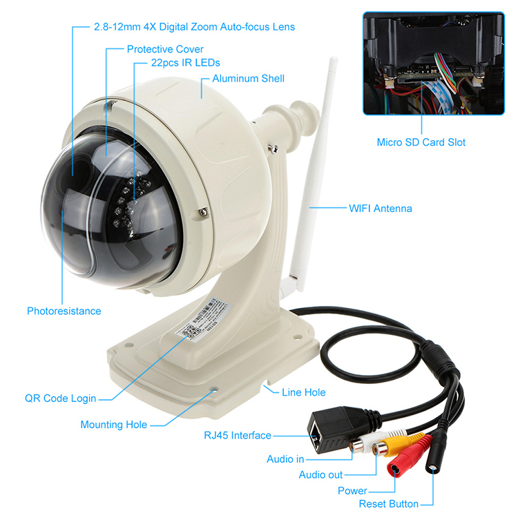 Waterproof Ip Camera
