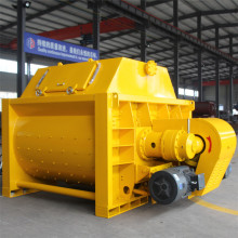 Self loader JS concrete mixer with elevator