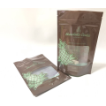 Plastic Cookies Bag With Printing And Window