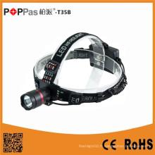 Poppast35b Lampe de poche à LED rechargeable en aluminium haute qualité CREE Xpg R5