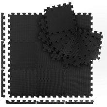 LINYI QUEEN  30x30cm EVA Puzzle Exercise Floor Interlocking Mat Non Slip Foam Gym Patchwork Fitness Soft Floor Puzzle Mats
