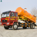 HOWO 4x2 10000liter Sewage Suction Truck