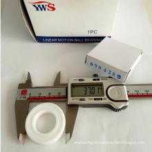 Rodamiento de bolitas de cerámica del giro durable 6904